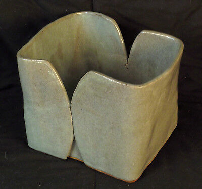 Large Double-Sided Open Pottery Box