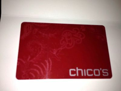 Chico's Gift Card  Balance: $228.38   Never Expires. Free Shipping !