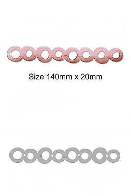 Sizzix Thinlit Chain Link Border Die Free P /& P New