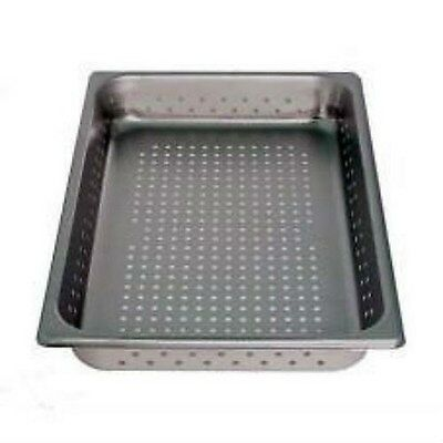 Vollrath Full Size Perforated Steam Table Food Pan, Stainless Steel (30023)