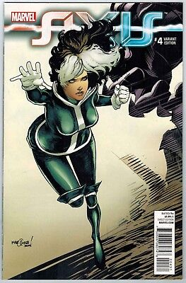Avengers And X-Men Axis #4 1:50 Marquez Young Guns Variant Marvel Comics Nm