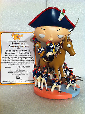 Family Guy Hamilton Sculpture Suffer The Consequences Figure Rare New Only 4500