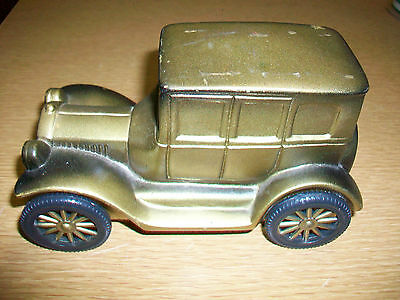 Vintage 1926 Ford Car Plastic Coin Bank *