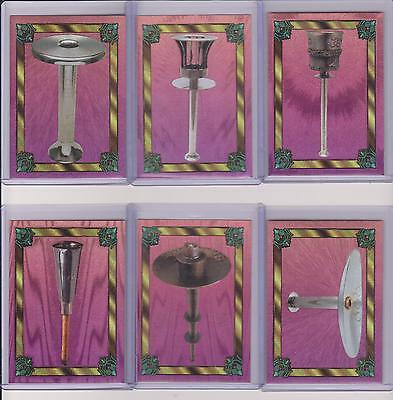 RARE 1996 CENTENNIAL OLYMPIC GAMES ~ DUFEX TORCH ~ COMPLETE 12 CARD SET ~ L@@K!