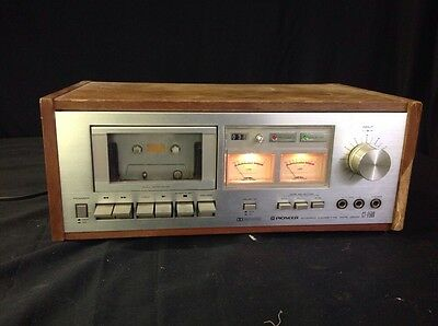 Vintage Pioneer CT-F500 Stereo Cassette Tape Deck Player Recorder