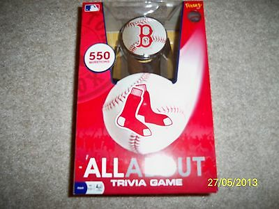 BRAND NEW! MLB BOSTON RED SOX TRIVIA GAME!