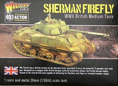 Warlord Games Bolt Action: 28mm 1/56 Sherman Firefly WWII British Medium Tank