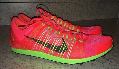 NIKE Zoom Victory XC 2 Atomic Red Cross Country Track Spikes Shoes NEW Mens 12.5