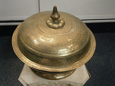 Antique Islamic 19Th Century Sumatran Indonesian Betel Bowl Palembang Museum Old