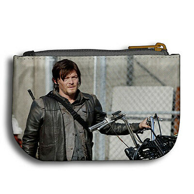 norman reedus daryl dixon the walking dead new coin purse collectible item