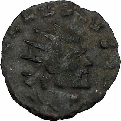 Claudius II Gothicus 268AD Ancient Roman Coin Ares Mars War God Cult   i44804