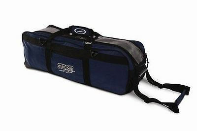 Storm Navy Tournament 3 Ball Tote Bowling Bag