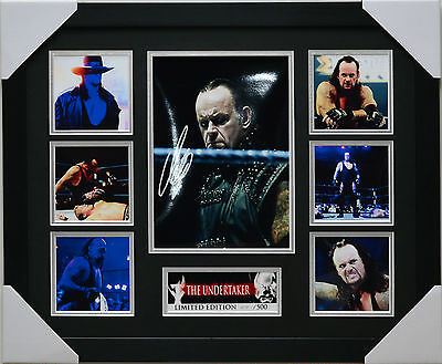 The Undertaker Limited Edition Framed Memorabilia