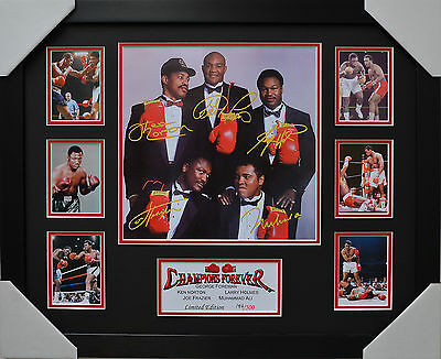 Champions Forever Signed And Framed Limited Edition