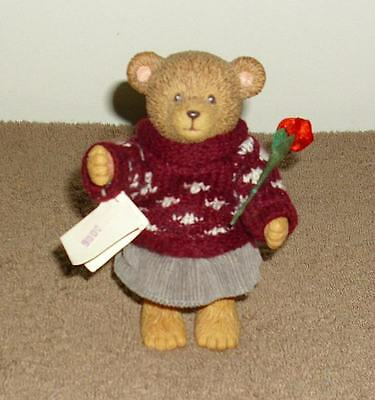 "RUSS BARRIE ""TEDDY TOWN"" BEAR ""I LOVE YOU"", WITH A MESSAGE CARD - GIRL"