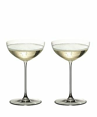 Riedel - Veritas Champagne Coupe Glass 240ml Set of 2