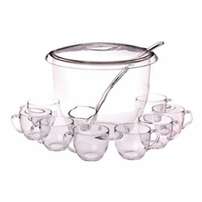 Pizzazz - Acrylic Punch Set with Lid 11pc