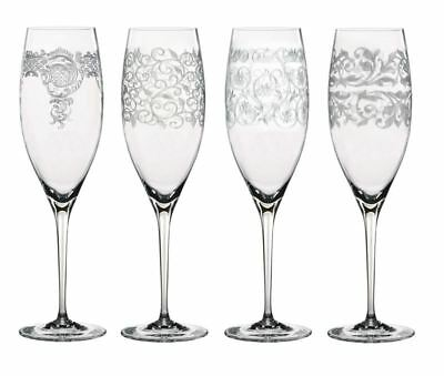 Nachtmann Crystal - Delight Champagne Flute 320ml Set of 4 (Made in Germany)