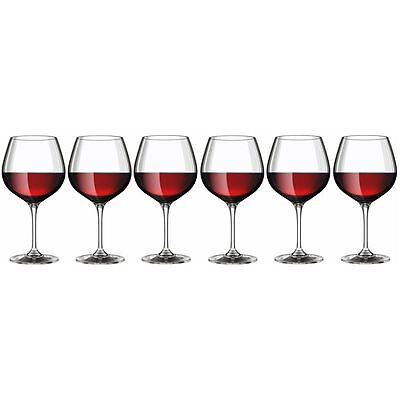 Rona - Hercules Oversized City Red Wine Glass 610ml set of 6 (Made in Europe)