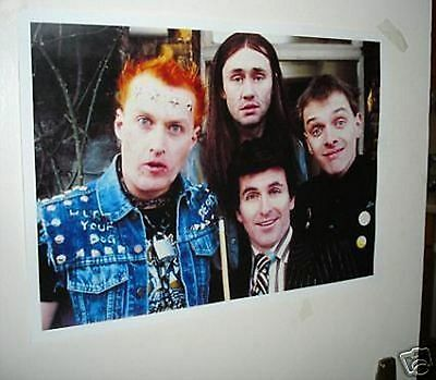 Rik Mayall Colour Door Poster #1 The Young ones