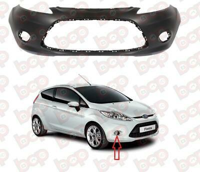 Ford Fiesta Mk7 2008-2012 Front Bumper With Fog Holes Primed New