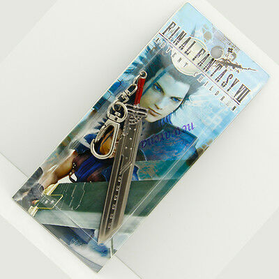 Cosplay Keychain Key ring For Final Fantasy VII Cloud Strife Sword Free Shiping