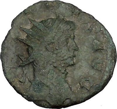 Gallienus Ancient Roman Coin Happiness Cult  Anchor = Fresh start, hope  i44824