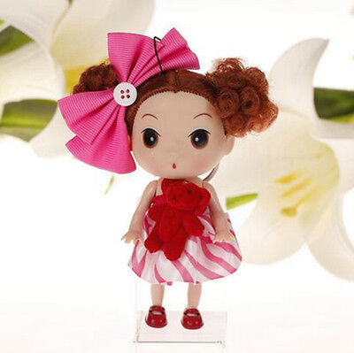 Red Korea Ddung Doll Cell Phone Backpack Ornaments Keychain Xmas Gift promotion