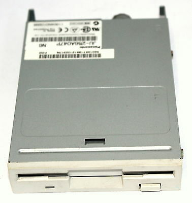 "Panasonic White Faced 1.44Mb 3.5"" Fdd Floppy Drive Model: Ju-256A047P!!"