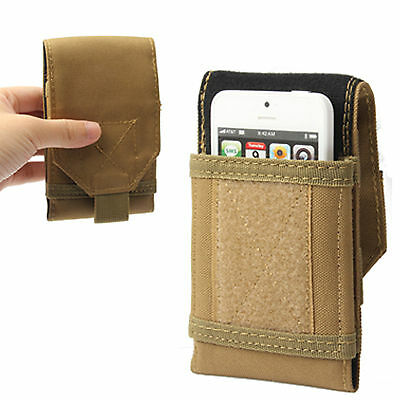 Universal Army Velcro Holster Pouch for Mobile Phone Hip Case/Cover Belt Loop