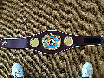 WBO World Champion Belt , WBO Champ Belt