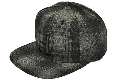 ff8627666b3 Huf X Starter Big H Snapback Plaid Collection Black Deadstock Imported From  Usa