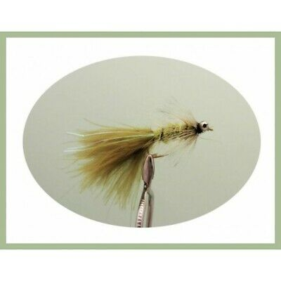8 Black Dog Nobbler Fishing Fly Mixed Size 8//10 Sinking Trout Flies