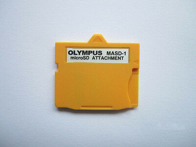 Original Olympus MicroSD Attachment, TF to xD-Picture Card Adapter, MASD-01
