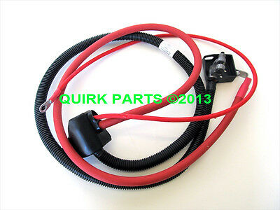 1995-1997 Ford F-250 F-350 7.3L V8 Positive Battery Cable OEM NEW Genuine
