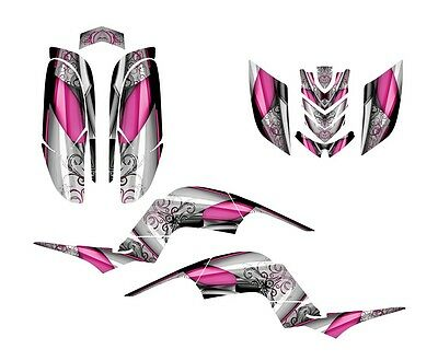 Raptor 660 graphics Yamaha 660R sticker kit NO8800 Hot Pink