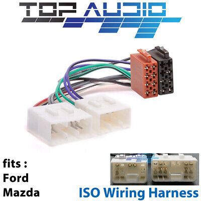 Ford Mazda ISO WIRING HARNESS stereo radio lead loom connector adaptor APP051
