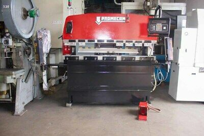 "35 Ton x 79"" Amada Promecam CNC Hydraulic Press Brake  Sheet Metal Bender"
