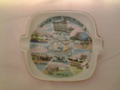 Vintage 1964-1965 New York World's Fair Ashtray/Plate