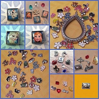 Floating Charms For Glass Charm Lockets