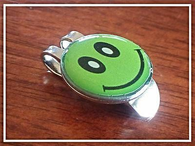 anneys - Combo golf ball marker & hat clip** green smiley**