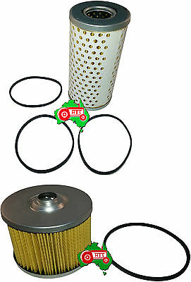 Fuel Oil Filter Kit Case International Tractor B250 B275 A414 Cartidge Filters