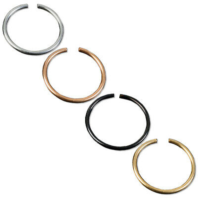 0,8mm Piercing Ring Nasen Ring Septum Tragus Helix Lippen Fake Piercing Z441