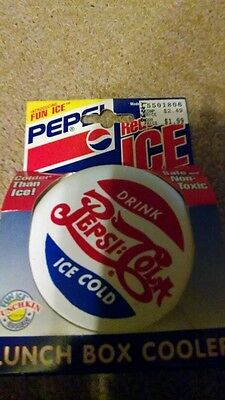 PEPSI COLA Lunch Box Cooler Reusable Ice Pack