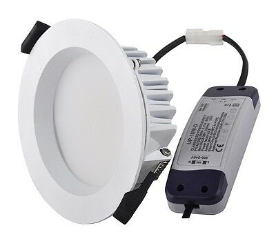 13W LED Down Light Commercial Style - 145mm Diameter- Cut Out 120mm