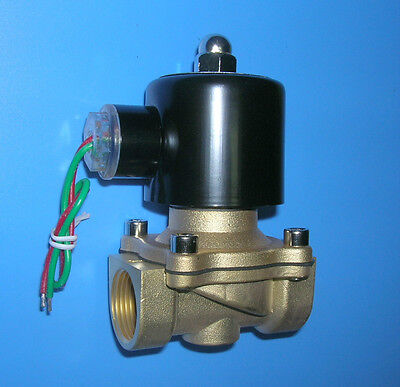 "3/4"" Electric Solenoid Valve 12-VDC Diesel Water..new"