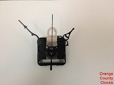 """Seiko Quartz Clock Movement Motor Kit for Dials Up to 1/2"""" with 3 1/8"""" hands, -C"""