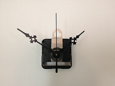 """Seiko Quartz Clock Movement Mechanism Kit for Dials Up to 1/4"""" with 3"""" hands,-D-"""