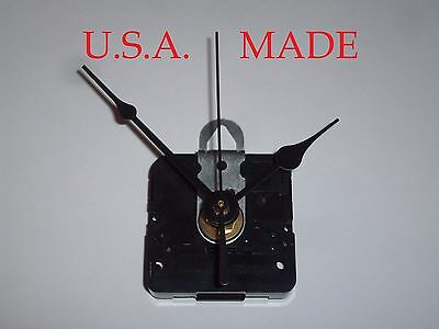 """Battery Clock Movement Mechanism Quartz Kit for Dials Up to 1/8"""" Thick - B"""