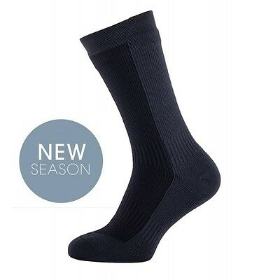 Sealskinz Socks Thick Mid Length Cycle Trekking Waterproof Breathable Windproof